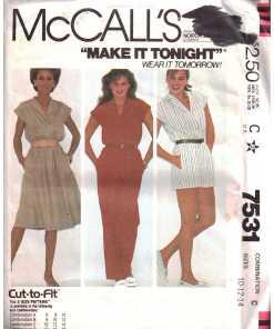 McCalls 7531 J