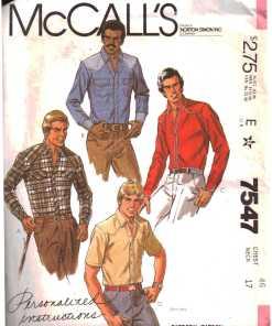 McCalls 7547 J