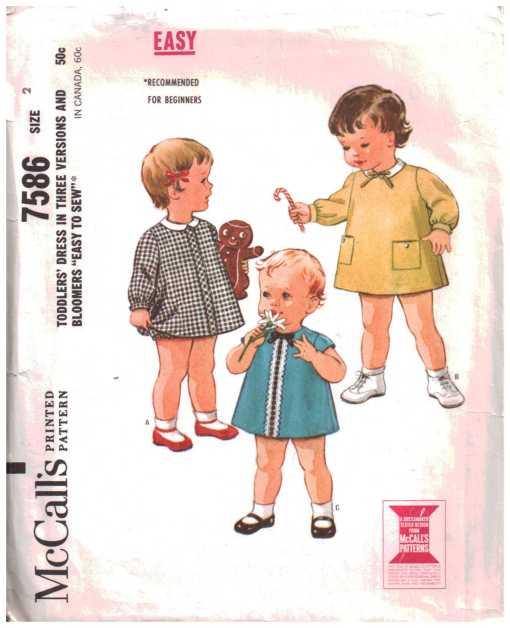 McCalls 7586 J