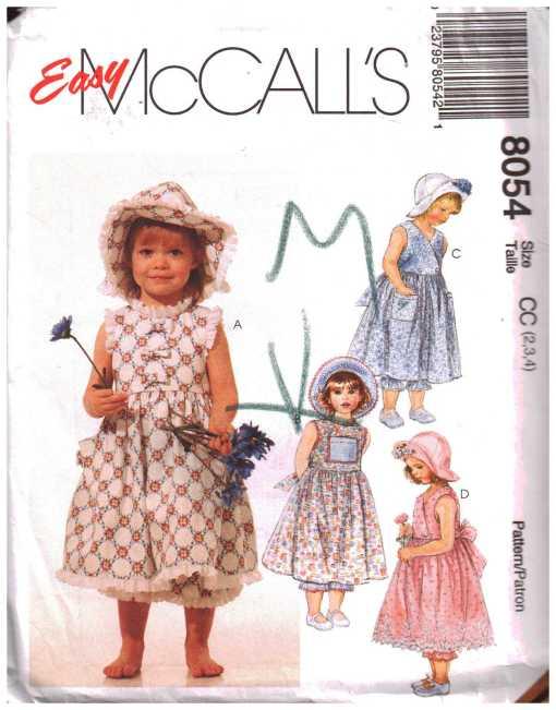 McCalls 8054 J