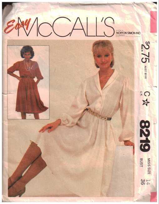 McCalls 8219 J