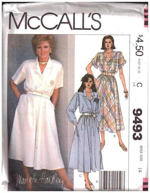 McCalls 9493 J