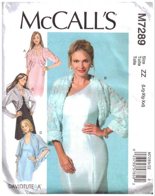 McCalls M7289 J