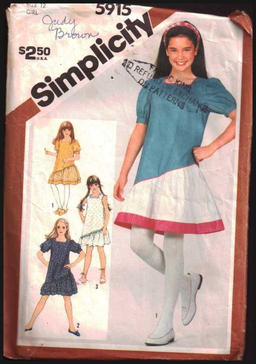 Simplicity 5915 J