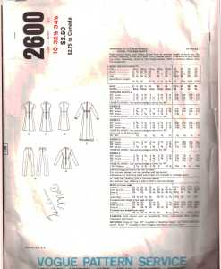 Vogue 2600 J 1