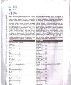 Vogue 7104 J 1