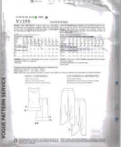Vogue V1355 J 1