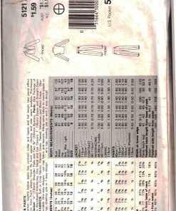 Butterick 5121 J 1