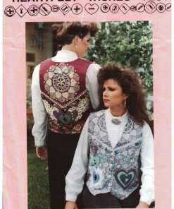 Marys Patterns Heartfelt Wishes Vest