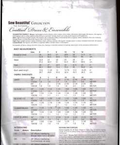 Sew Beatuful coattail dress 1