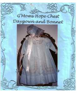 Susan York Daygown and Bonnet 1
