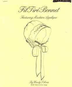 Wendy Schoen Design Fil Fire Bonnet