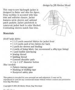 Merchant Rag The Jessica Jacket 1