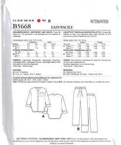 Butterick B5668 O 1