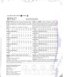 Butterick B5927 O 1
