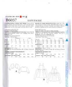 Butterick B6037 O 1