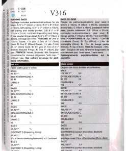 Vogue V316 O 1