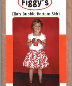 Figgys Ellas Bubble Bottom Skirt
