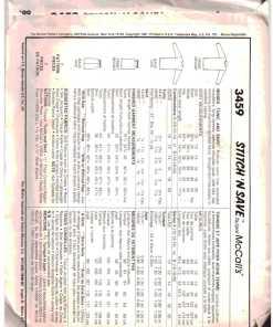 McCalls 3459 N 1