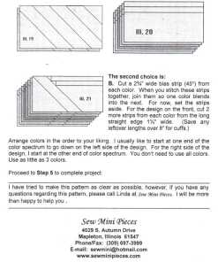 Sew Mini Pieces 2130 1