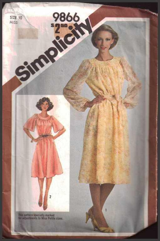 Simplicity 9866 D