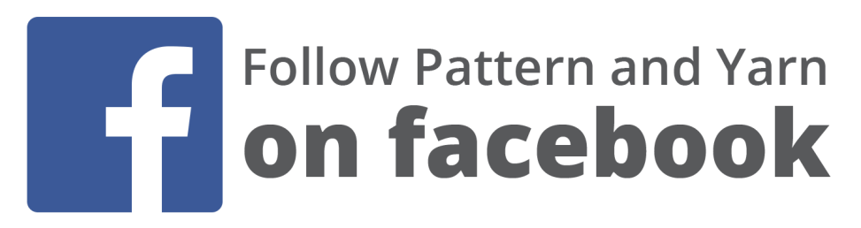 Follow pattern and yarn on facebook