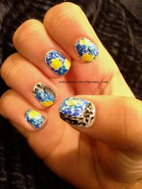 Van Gogh inspired Nails  Starry Night | Patterned Polishes