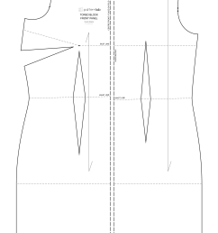 Basic Sewing Patterns and Slopers To Fit Your Measuremnts - PatternLab [ 3332 x 2000 Pixel ]