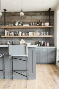 Interior Trend: Open Shelving in Kitchens - patterns ...