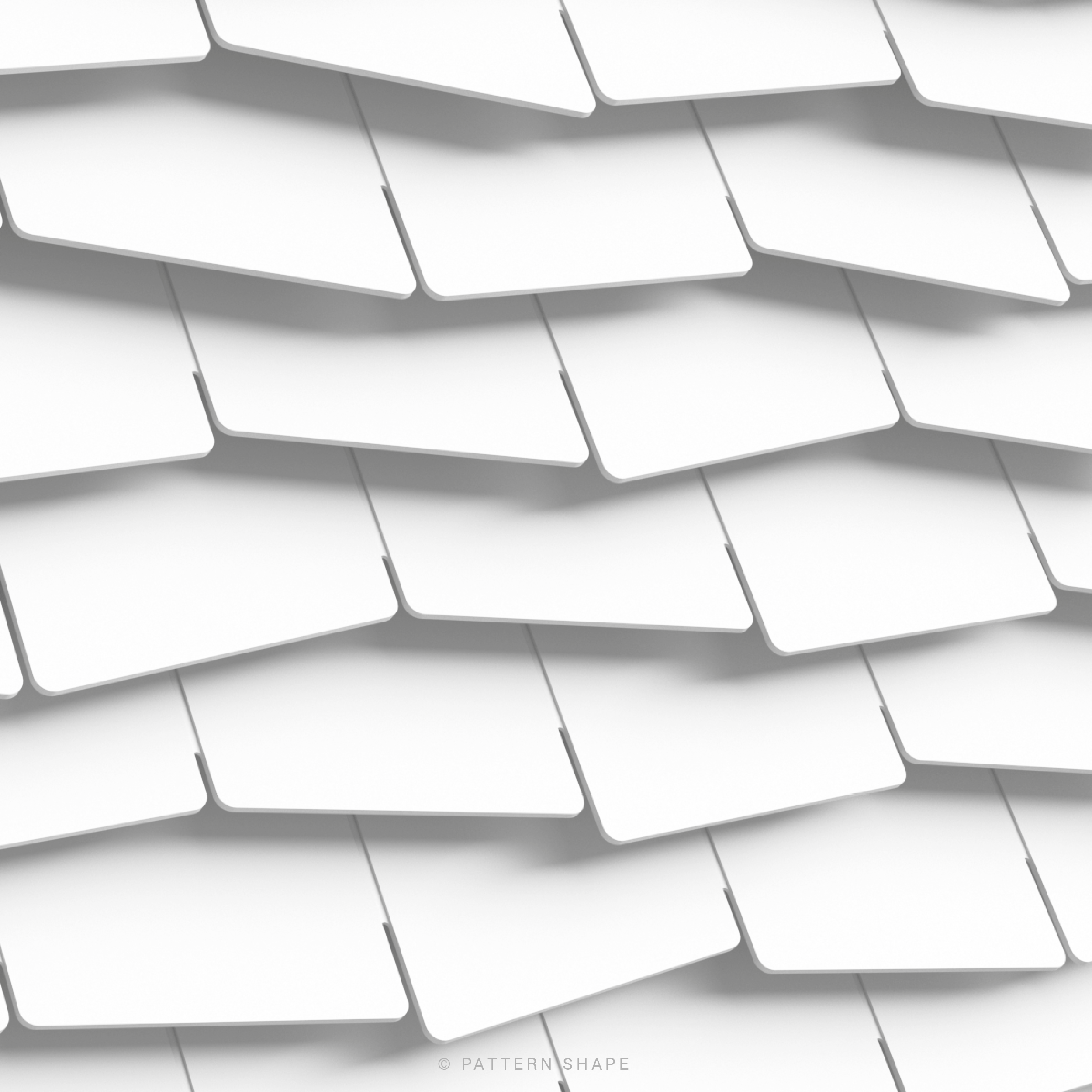 © PATTERN SHAPE | WALL ART DETAIL - THIN - ZIG ZAG