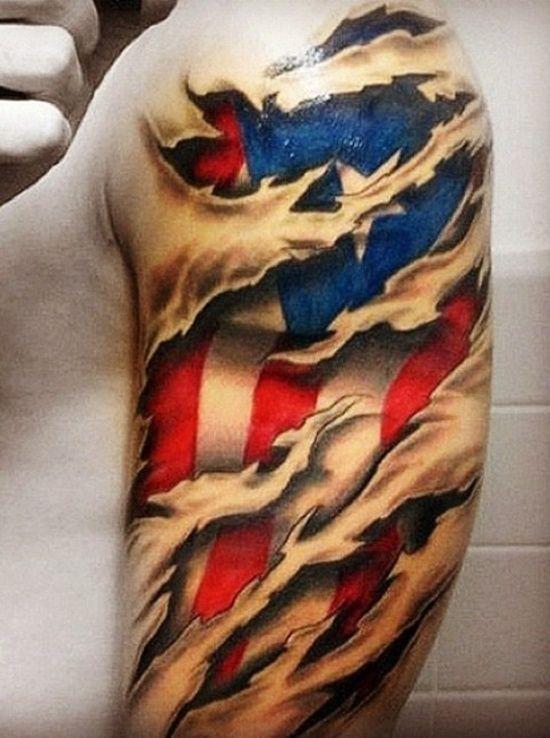 Country Tattoo Designs : country, tattoo, designs, Pick:, Surreal, Tattoo, Patterns