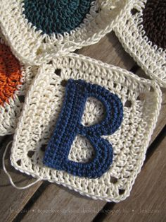 15 Easy to Make Crochet Letter Patterns  Patterns Hub