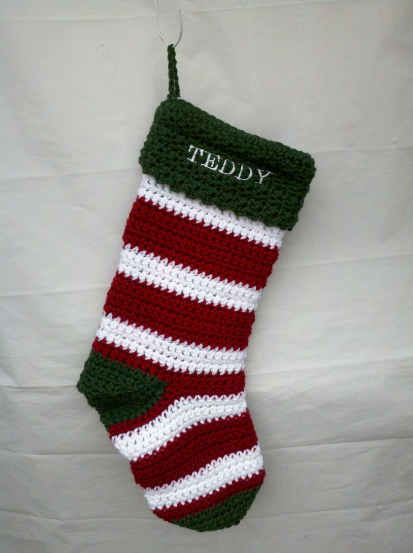 40 All Free Crochet Christmas Stocking Patterns
