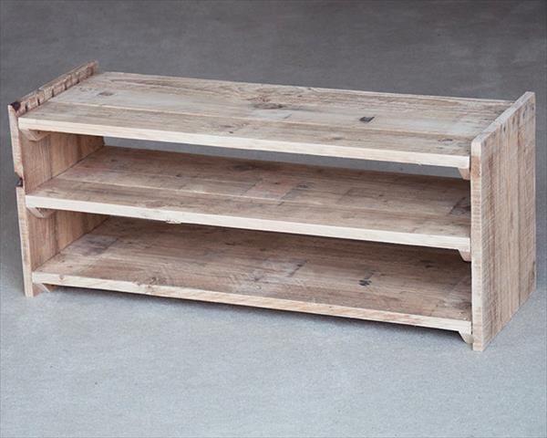 Plywood Shoe Rack Plans