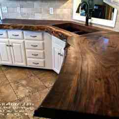 Wood Countertops Kitchen Replacing Sink 20 Ideas For Installing A Wooden Countertop At Your Home Patterns Hub