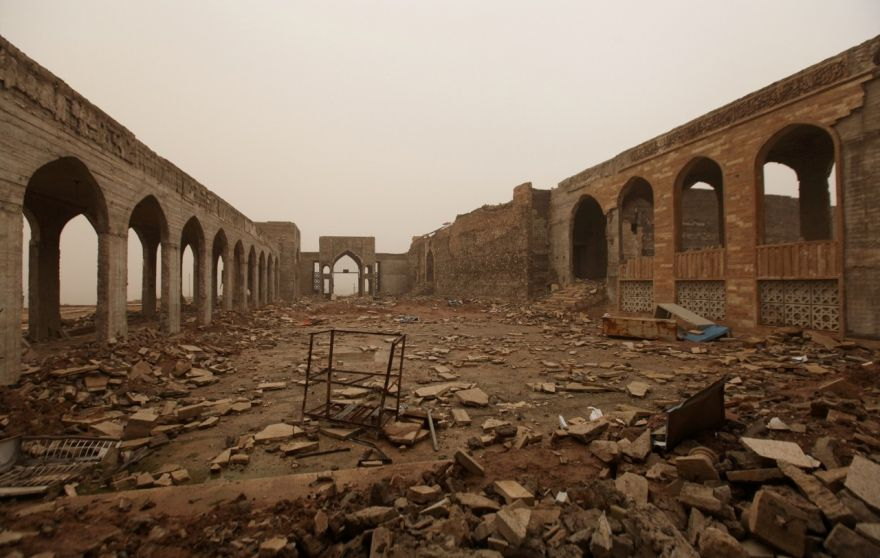 ISIS Demolition of Jonah Shrine Reveals Biblical King's Palace