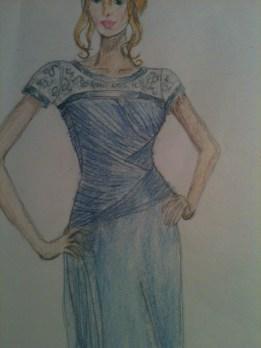 fashion illustration bridal