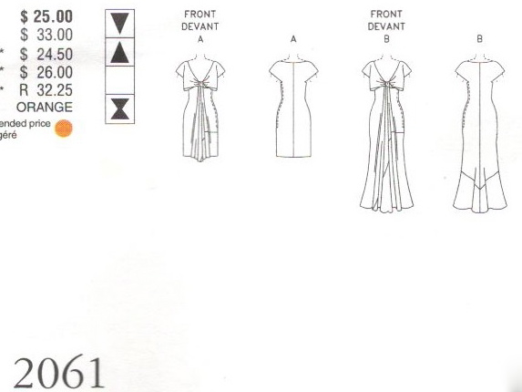 John Galliano for Givenchy: Vogue Patterns