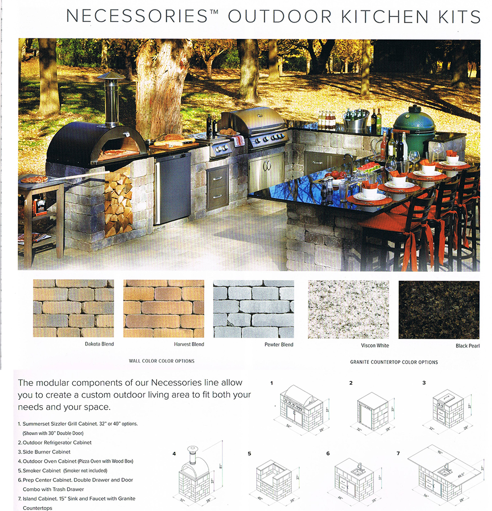 Outdoor Kitchens  Patterson Hardscape  Supply Co