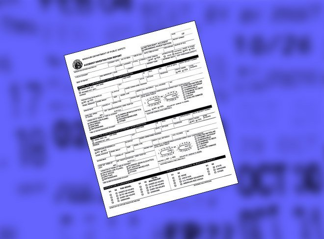 How To Obtain a Copy of An Accident Report in Missouri