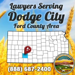 Dodge City Car Accident Lawyer Map