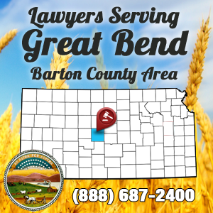 Great Bend Car Accident Lawyer Map