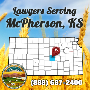 McPherson Car Accident Lawyer Map