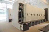 Personal Storage Lockers: Custom Locker Shelf   Patterson Pope