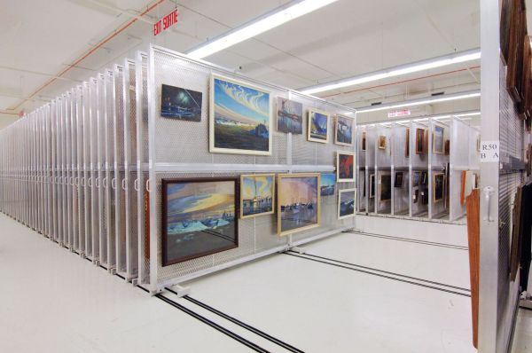 Art Storage Racks