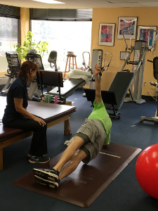 Patterson Physical Therapy Side Plank