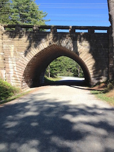 Acadia's carriage trail