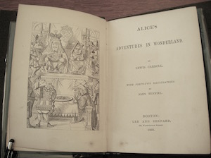 """first American edition of """"Alice"""""""