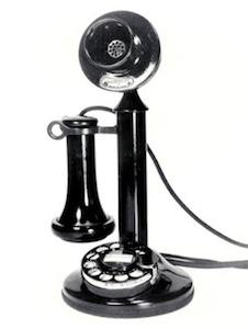 1920s telephone receiver