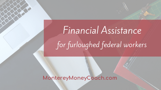 Financial assistance for furloughed federal workers